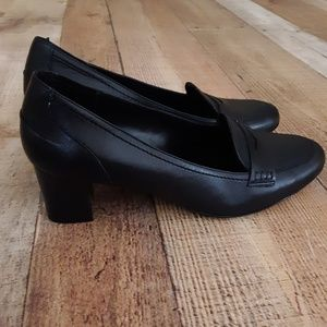 Brooks Brothers 346 Black Professional Heels 9.5